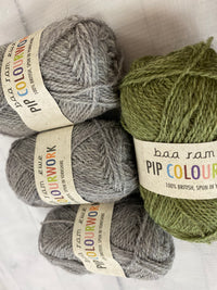Baa Ram Ewe Silverweed Hat Kit