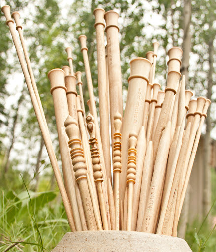 Brittany Birch Wood Single Point Knitting Needles