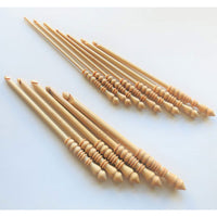 Brittany Birch Single Point Crochet Hooks