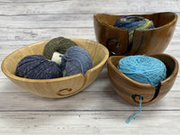 Dean Hood Wood Yarn Bowl