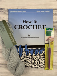 Learn to Crochet Kit - Basic Edition