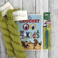 Learn to Crochet Kit - Kids Edition