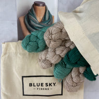 Blue Sky Fibers Lexington Cowl Kit