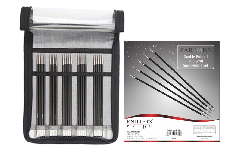 Knitter's Pride Karbonz Double Pointed Needle Set