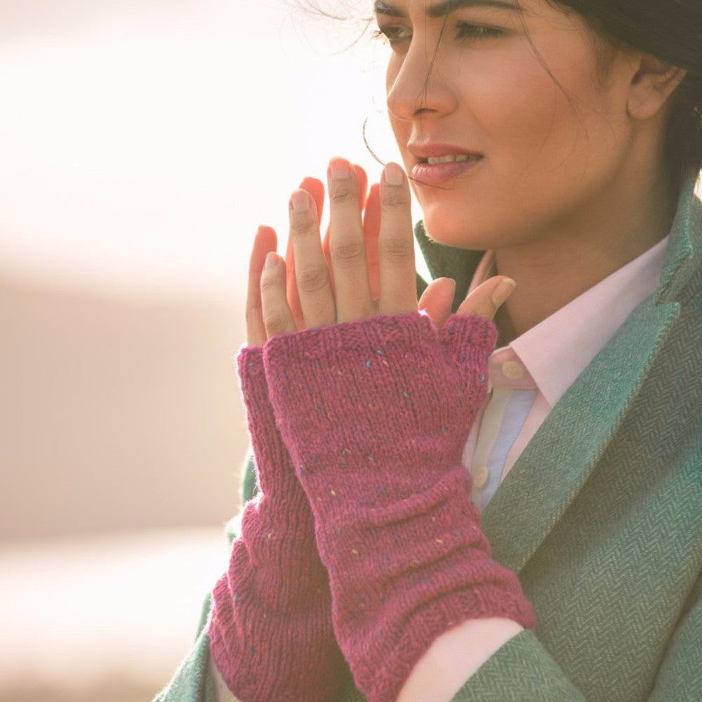 The Fibre Co. Arranmore Light - Fell Garth II: St. Bega Mitts (PDF Download)