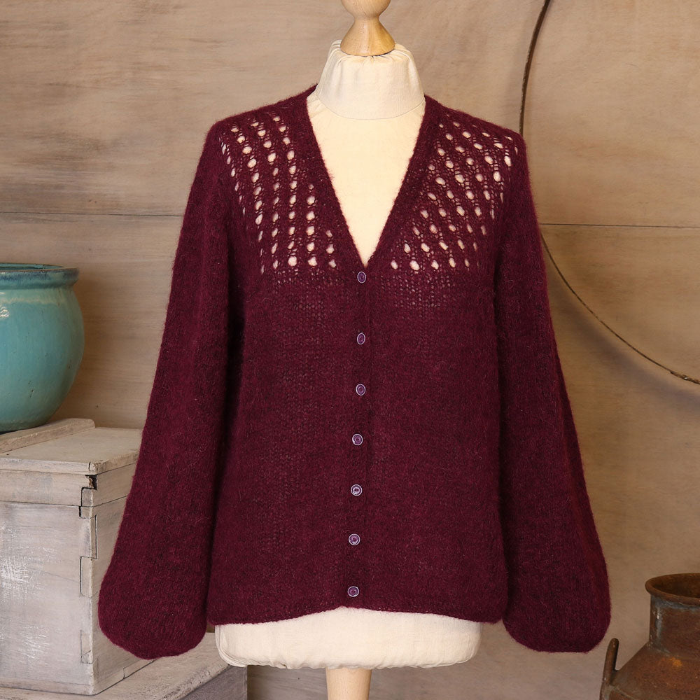 The Fibre Co. Cirro Gaspra Cardigan