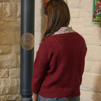 The Fibre Co. Foundations: Cumbria Fingering - Textured Sweater (PDF Download)
