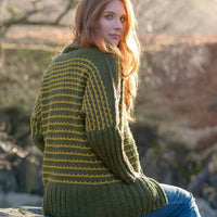 The Fibre Co. Lore Greenup Gill Cardigan (PDF Download)