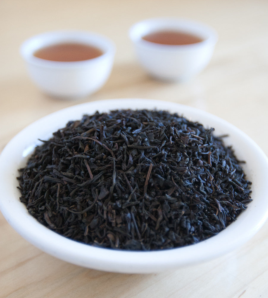 Our Earl Grey Supreme, Chinese Black Tea, is made from premium black Assam and Chinese tea and blended with all natural oil of bergamot.