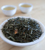Ginger Lemonade is a Chinese Sencha green tea with refreshing, vitalizing lemon-ginger flavor.
