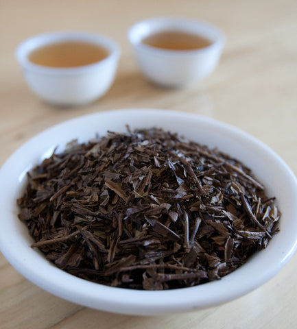 Houjicha, Japanese Green Tea, is an organic tea where the leaves are roasted