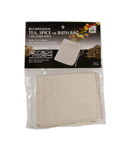 Cotton Tea, Spice or Bath Bag