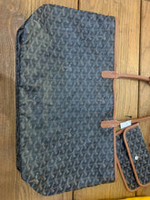 Load image into Gallery viewer, Goyard St Louis PM Black Tan Preloved