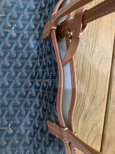 Goyard St Louis PM Black Tan Preloved