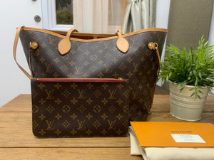 Louis Vuitton Neverfull MM Monogram Preloved