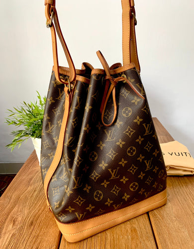 Louis Vuitton Preloved Noe Monogram Preloved