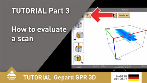 Gepard GPR 3D Tutorial Part 3