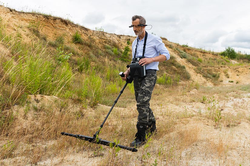 eXp 6000 Professional Operating mode 3D Ground Scan
