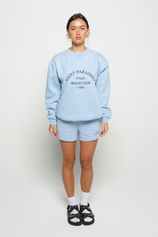 Beach Club Sweater - Sky Blue