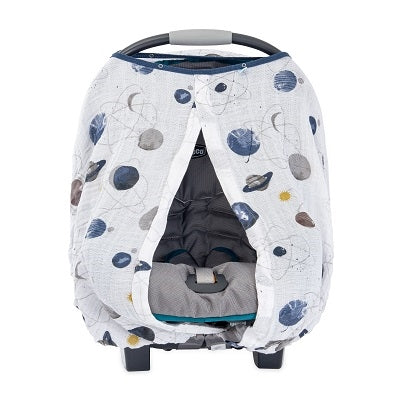 Planetary Cotton Muslin Car Seat Canopy