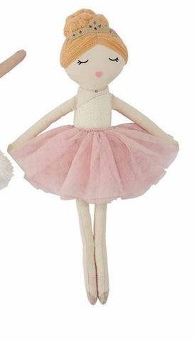 Blonde Ballerina Doll