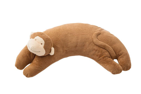 Curved Pillow Monkey- Brown