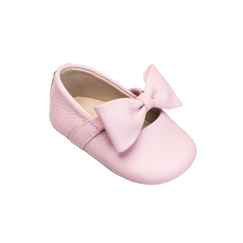 Ballerina Baby W/ Bow- Pink