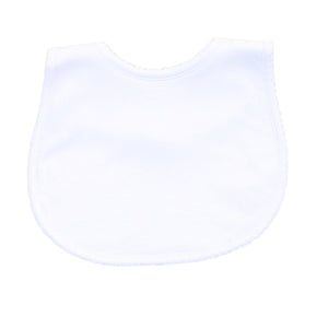 White Essentials Bib