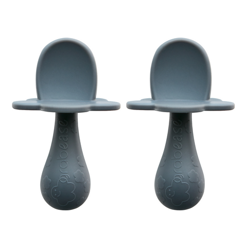 Double Silicone Spoons - Gray