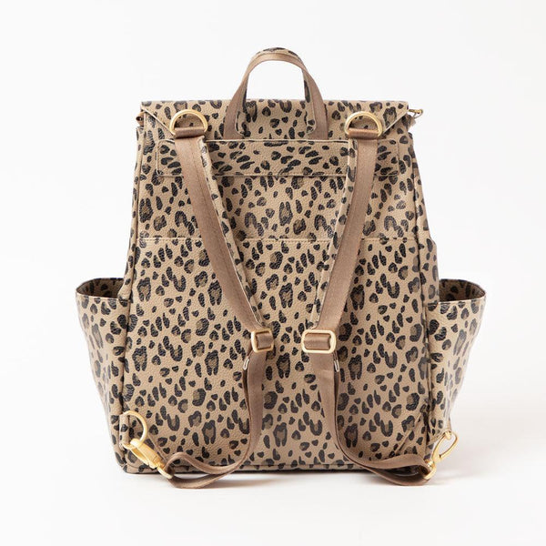 Mini Backpack- Leopard