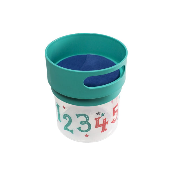Teal Munchie Mug 12 ounce