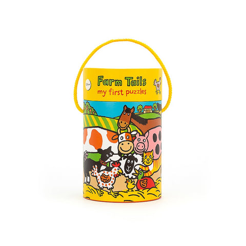 4 in 1 Puzzle Farm Tails