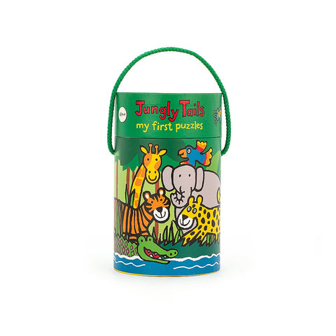 4 in 1 Puzzle Jungly Tails