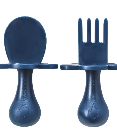 First Self Feeding Utensil Set- Navy
