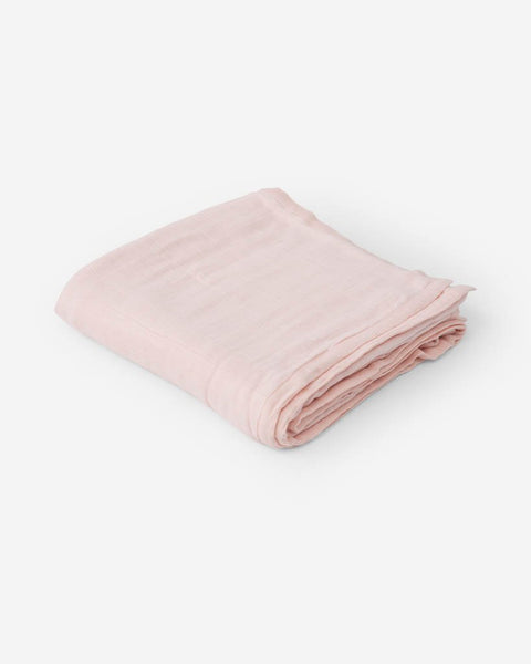 Deluxe Muslin Quilt- Blush