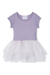 Bestie Tutu Dress- Betty Purple