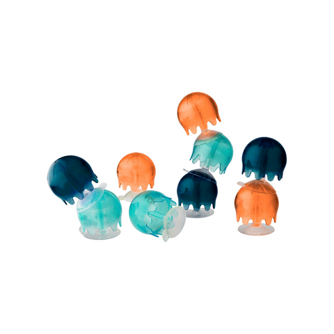 Jellies Bath Toy- Navy /Coral