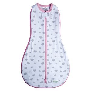 Grow with Me Swaddle- GWM 5- My Love/ Hearts