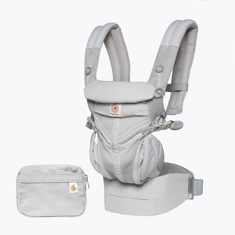 Omni 360 Baby Carrier Cool Air Mesh Pearl Grey