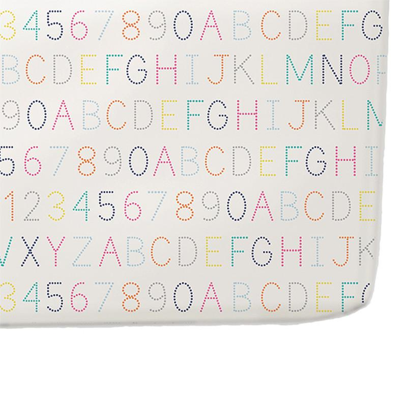 Crib Sheets Alphabet