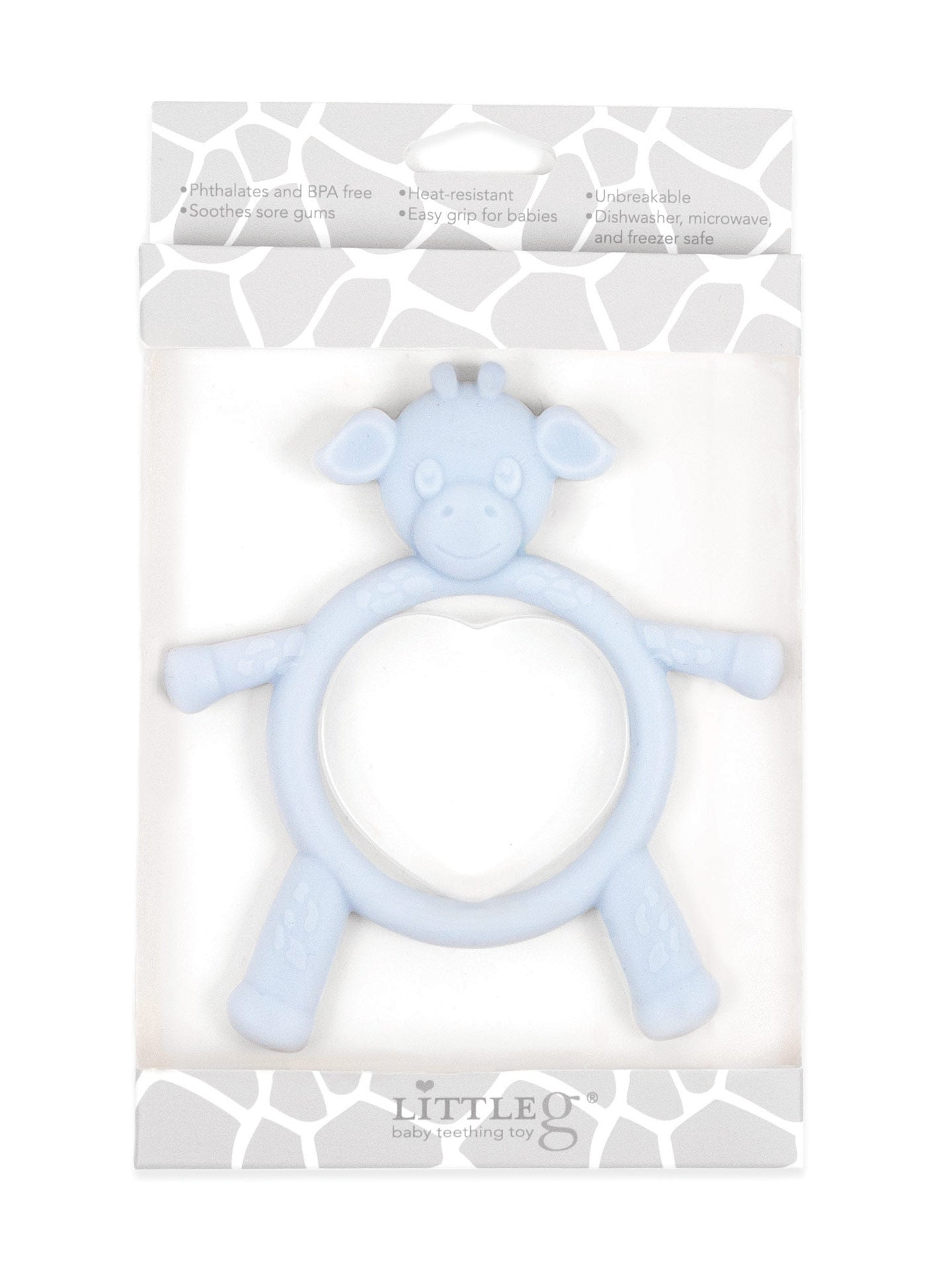 Little G  Teething Toy Blue