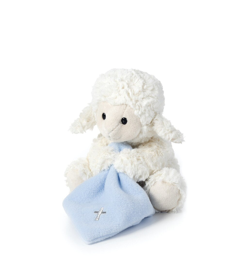 Jesus Loves Me Lamb- Blue