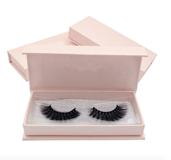3D Mink Hair 1 Piece crossed Natural Eyelashes Beauon