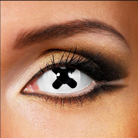 Cosplay Black Cross Colored Contact Lenses Beauon