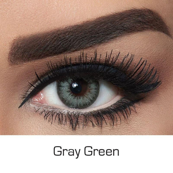 DIAMOND Gray Green Colored Contact Lenses Beauon
