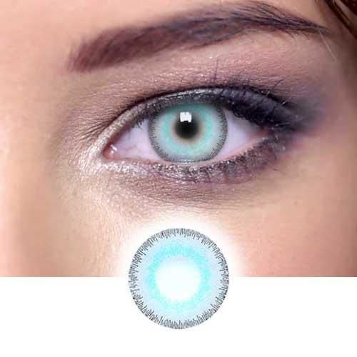 Elite Glass Green Gray Colored Contact Lenses Beauon
