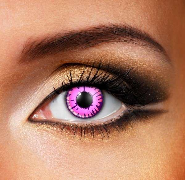Halloween ENCHANTED PINK Colored Contact Lenses Beauon