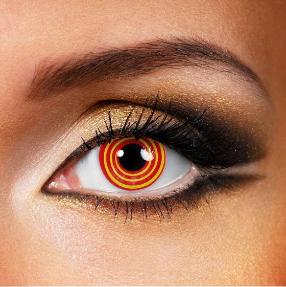 Halloween illusion red Colored Contact Lenses Beauon