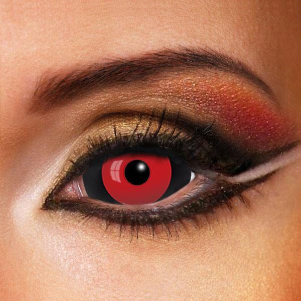 Halloween Jigsaw Black&Red Colored 22.0mm Contact Lenses- Pre-sale (Shipped on September 29) Beauon