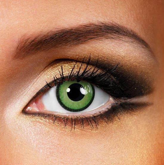 Halloween Manson Forest green Colored Contact Lenses Beauon